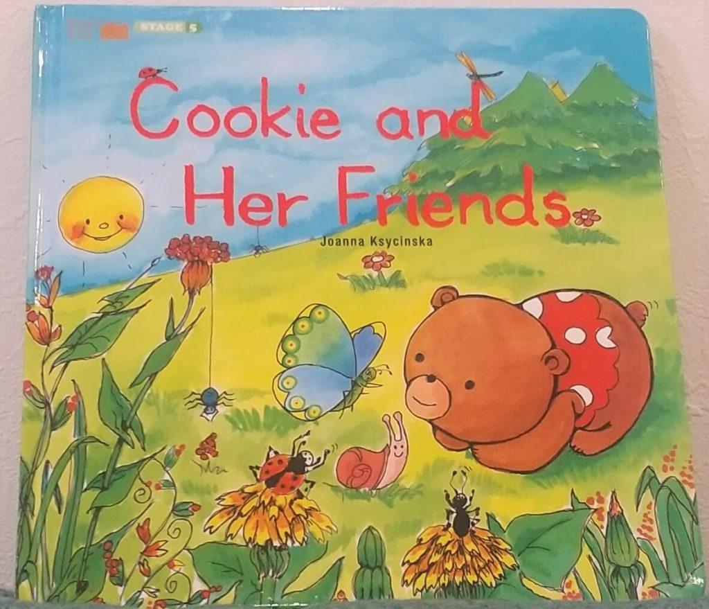 絵本「Cookie and Her Friends」