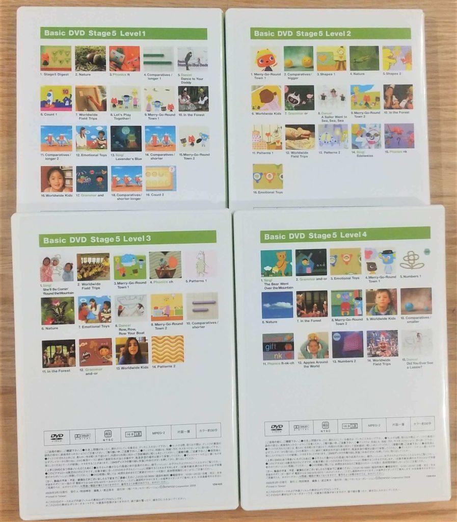 Basic DVDs21-24裏