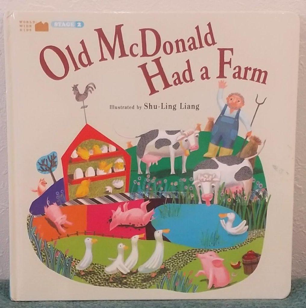 絵本「Old McDonald Had a Farm」